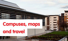 campuses maps and travel
